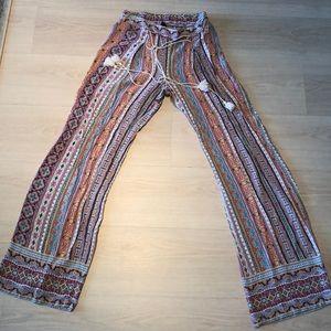 Bebop wise leg pants